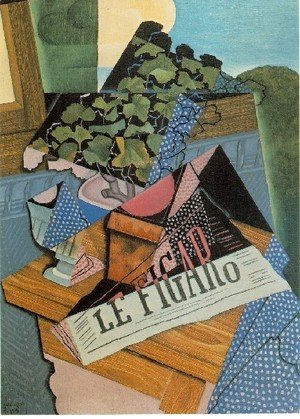 Juan Gris - The Pot Of Geraniums
