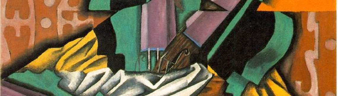 Juan Gris - Violin And Checkerboard