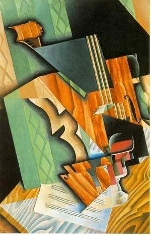 Juan Gris - Violin And Glass